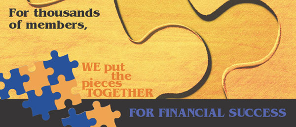 membership statement insert showing puzzle pieces