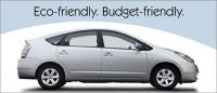 auto loan statement insert eco-friendly budget friendly showing white hybrid car