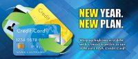 visa statement insert - new year, new plan