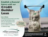 Cash themed Credit Builder Loan ad