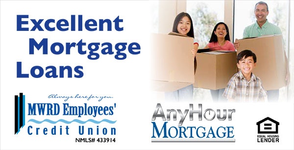 mortgage loan web graphic - family moving into new house