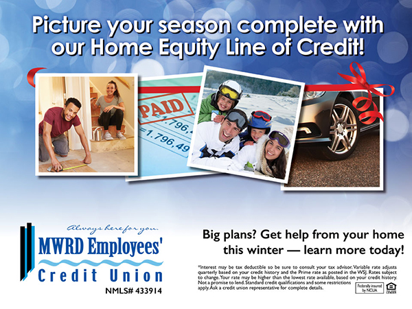 holiday theme snapshots home equity ad