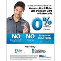 visa poster - intro rate balance transfer