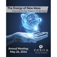 annual meeting poster - energy of new ideas