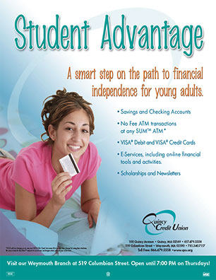 youth poster - student advantage