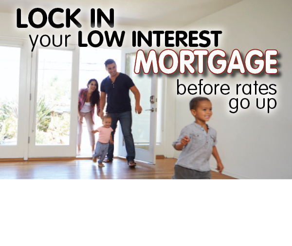 Family themed mortgage banner