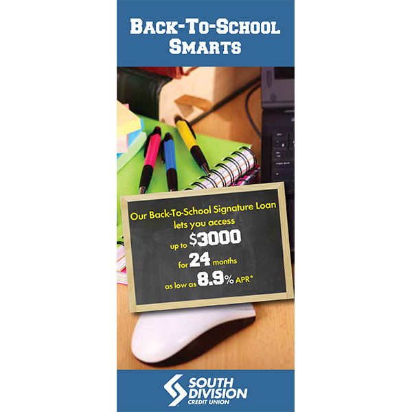 loan statement insert - school supplies