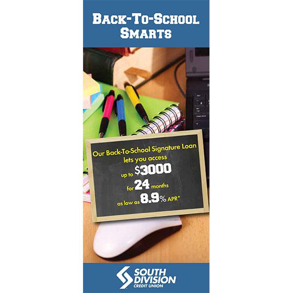 loan statement insert - school supplies