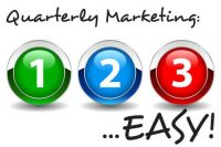 quarterly marketing - 1-2-3 easy